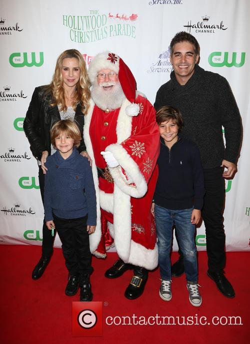 Jenna Gering, Galen Gering and Santa