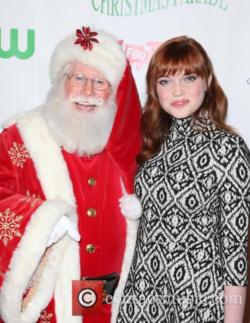 Kennedy Lea Slocum and Santa 8
