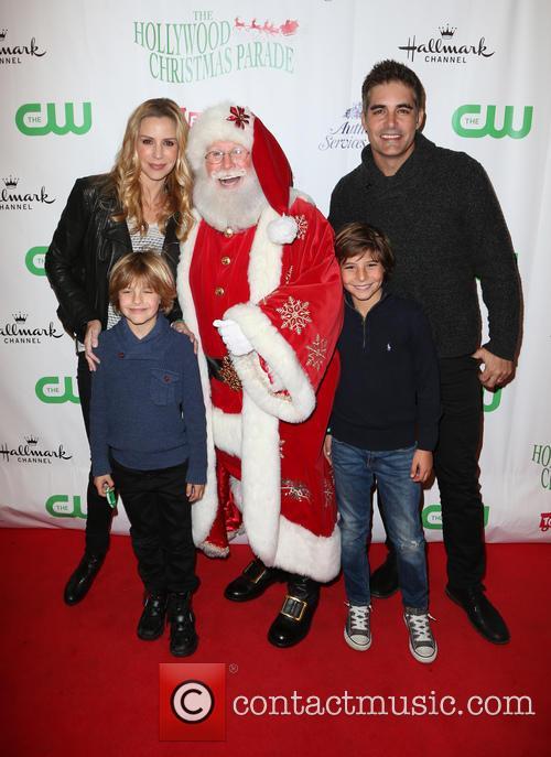 Jenna Gering, Galen Gering and Santa 8