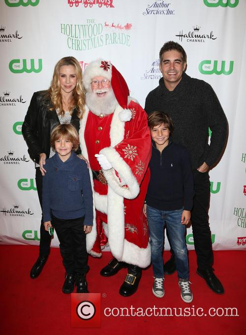Jenna Gering, Galen Gering and Santa 9