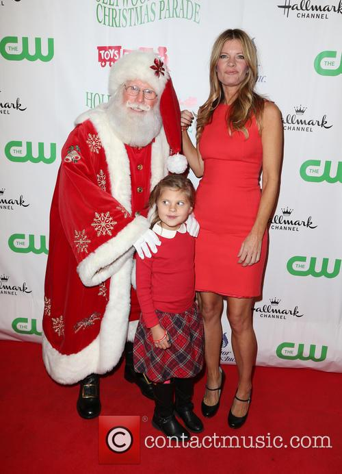 Santa, Michelle Stafford and Natalia Scout Lee Stafford 5