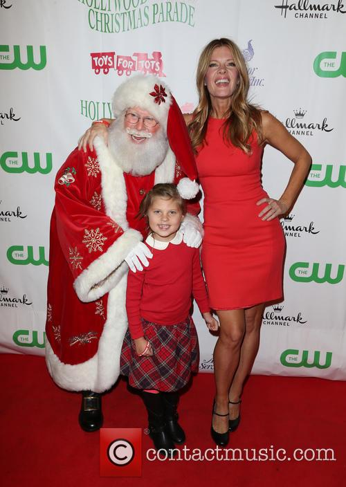 Santa, Michelle Stafford and Natalia Scout Lee Stafford 8