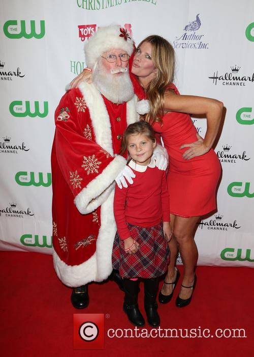 Santa, Michelle Stafford and Natalia Scout Lee Stafford 11