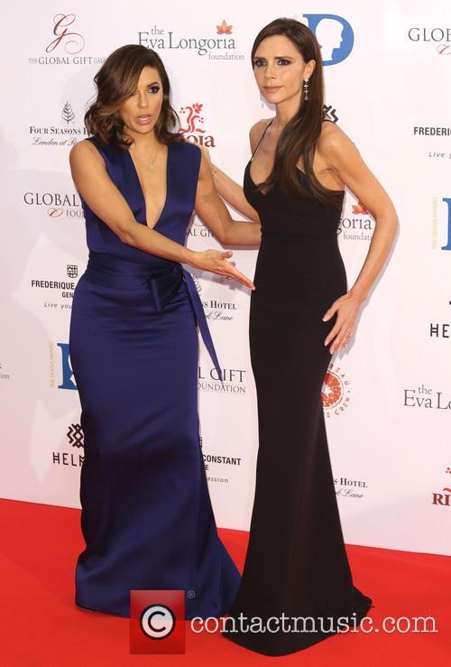 Eva Longoria and Victoria Beckham 8