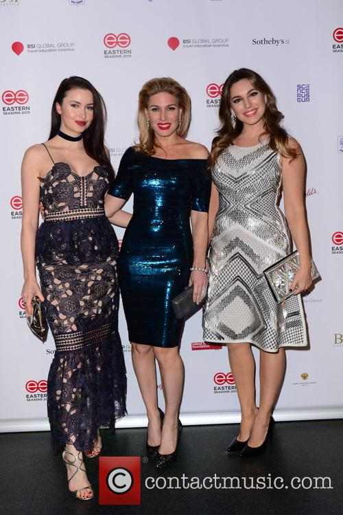 Emma Miller, Hofit Golan and Kelly Brook 2