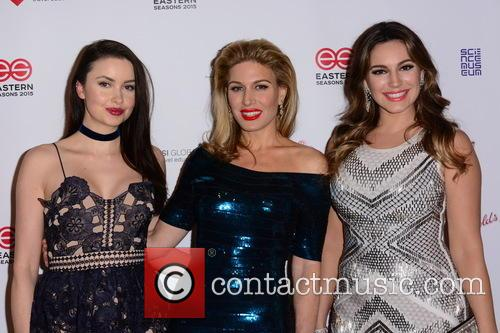 Emma Miller, Hofit Golan and Kelly Brook 3