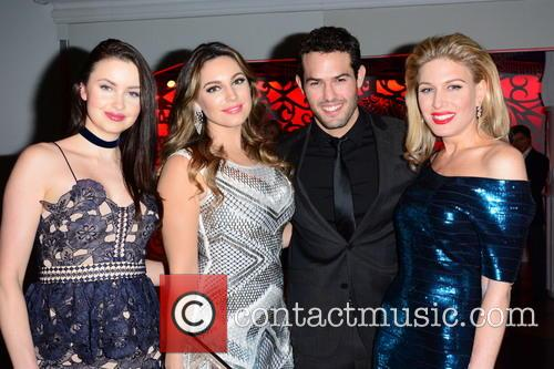 Emma Miller, Kelly Brook, Jeremy Parasis and Hofit Golan 11