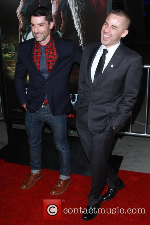 Michael Dougherty and Producer Alex Garcia 1