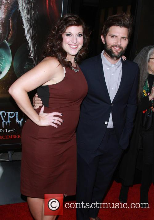 Allison Tolman and Adam Scott 5