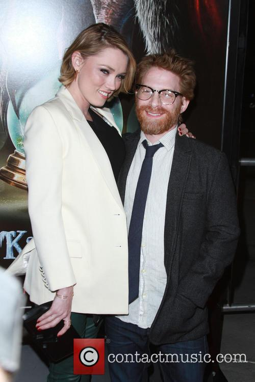 Clare Grant and Husband Seth Green 4