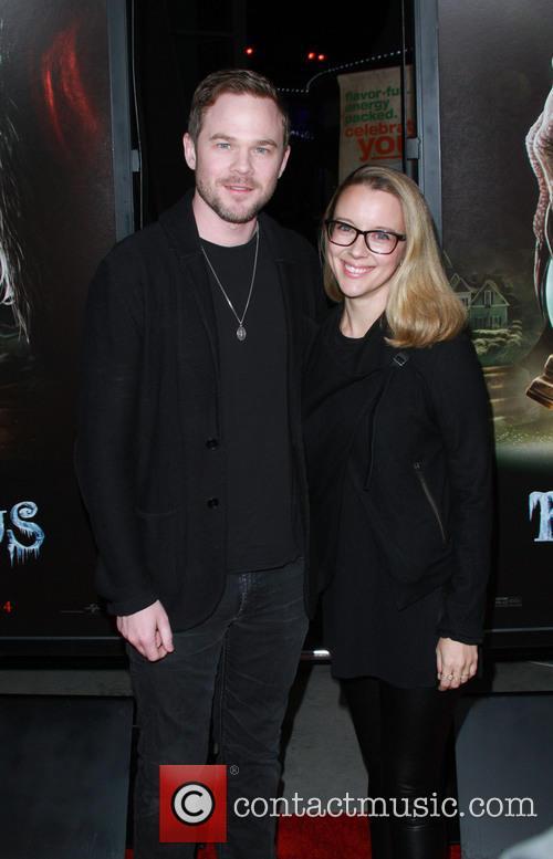 Shawn Ashmore and Dana Wasdin
