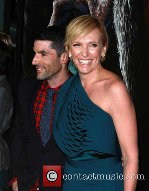 Producer Alex Garcia and Toni Collette 4