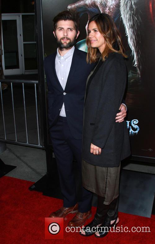 Adam Scott and Wife Marie Kojzar 7