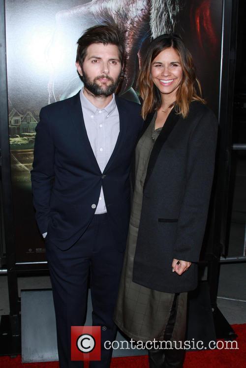 Adam Scott and Wife Marie Kojzar 8