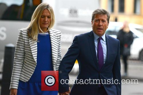 Neil Fox arrives at Westminster Magistrates Court
