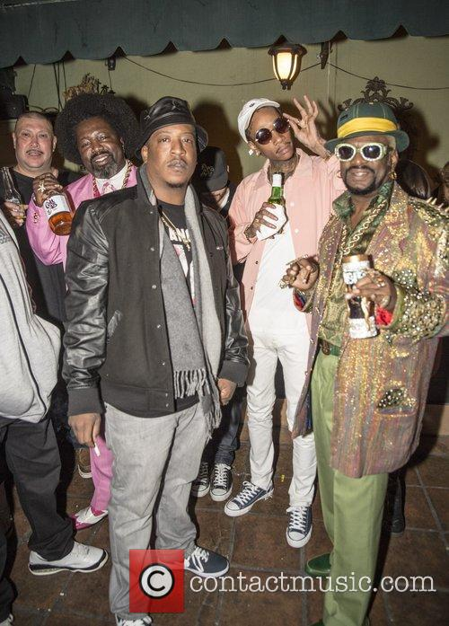 Bishop Don Magic Juan, Edidon, Afroman and Wiz Khalifa 1