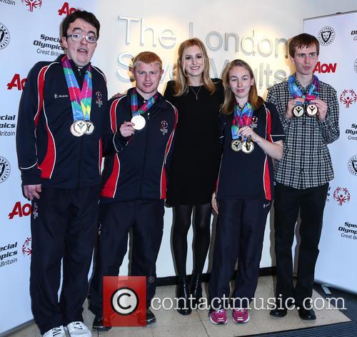 Laura Carmichael, Daniel Woolf, Matt Dodds, Mitchell Camp and Georgina Maton 1
