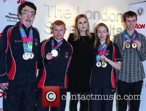 Laura Carmichael, Daniel Woolf, Matt Dodds, Mitchell Camp and Georgina Maton 2