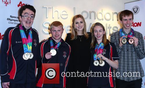 Laura Carmichael, Daniel Woolf, Matt Dodds, Mitchell Camp and Georgina Maton 3