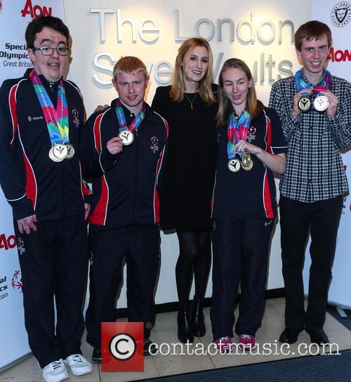 Laura Carmichael, Daniel Woolf, Matt Dodds, Mitchell Camp and Georgina Maton 5