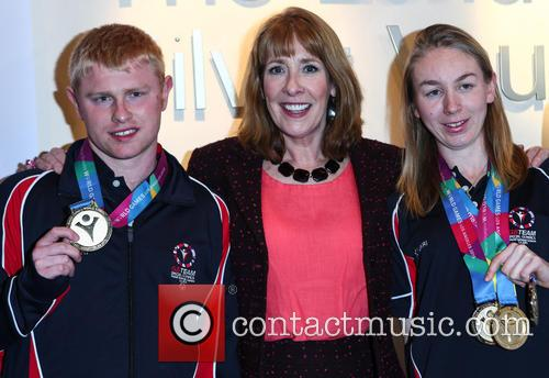 Phyllis Logan, Matt Dodds and Georgina Maton 5