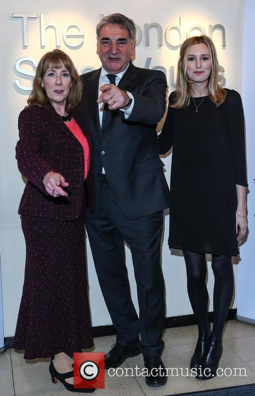 Phyllis Logan, Jim Carter and Laura Carmichael 6