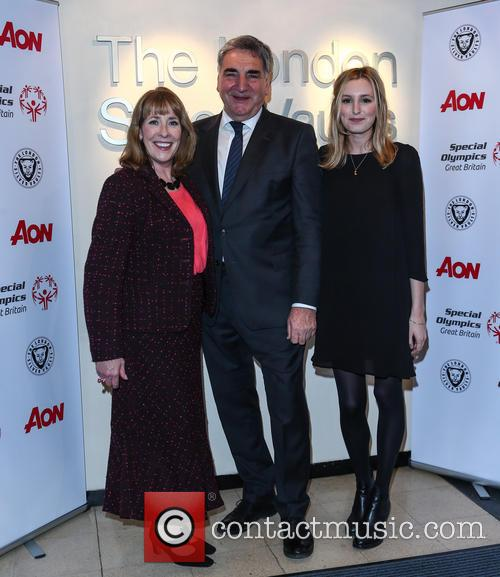 Phyllis Logan, Jim Carter and Laura Carmichael 7