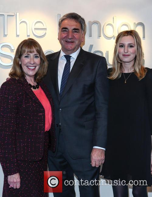 Phyllis Logan, Jim Carter and Laura Carmichael 8