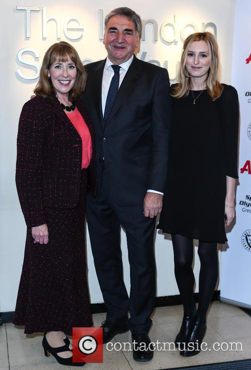 Phyllis Logan, Jim Carter and Laura Carmichael 9