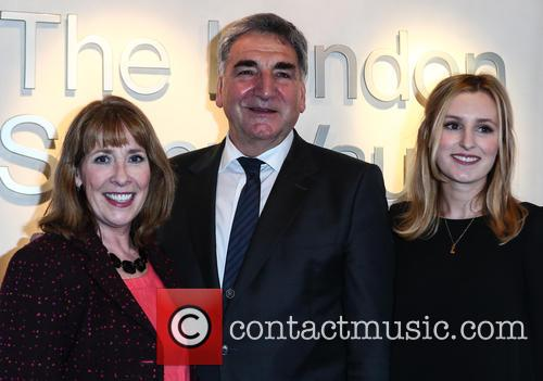 Phyllis Logan, Jim Carter and Laura Carmichael 10