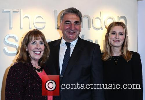 Phyllis Logan, Jim Carter and Laura Carmichael 11