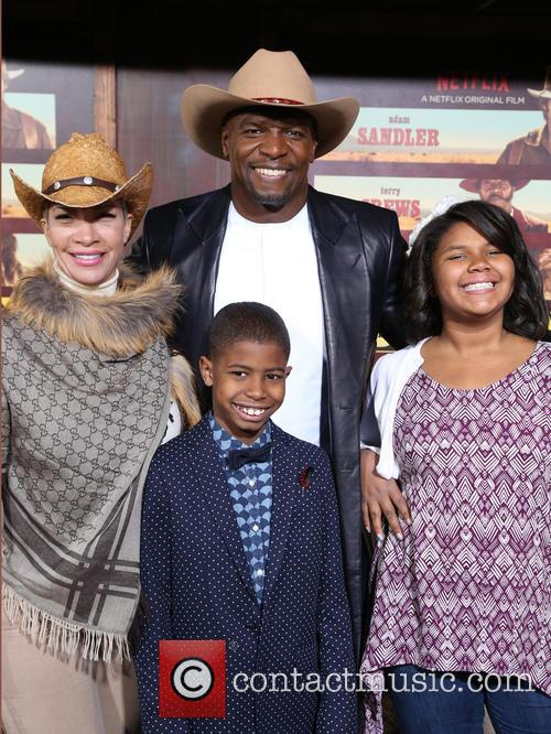 Terry Crews, Rebecca Crews and Kids 1