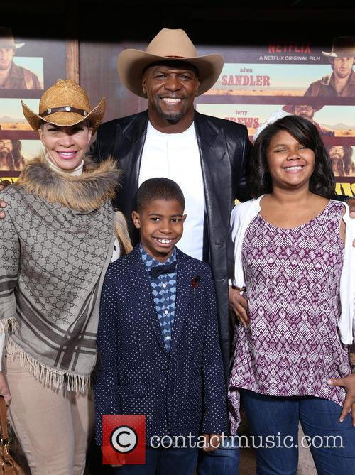 Terry Crews, Rebecca Crews and Kids 2