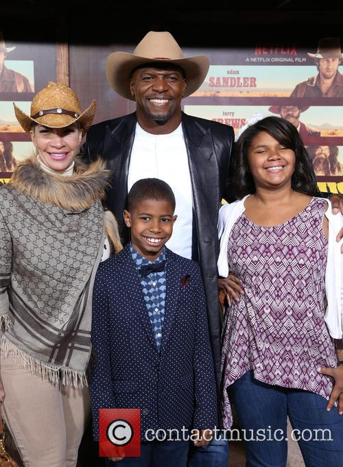 Terry Crews, Rebecca Crews and Kids 3
