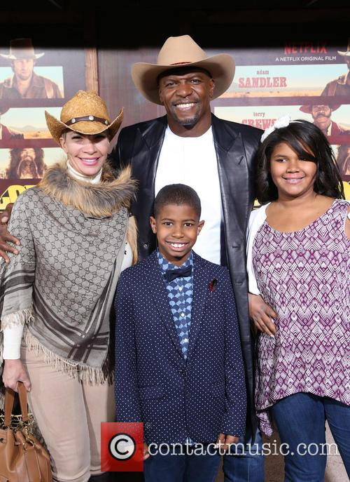 Terry Crews, Rebecca Crews and Kids 7
