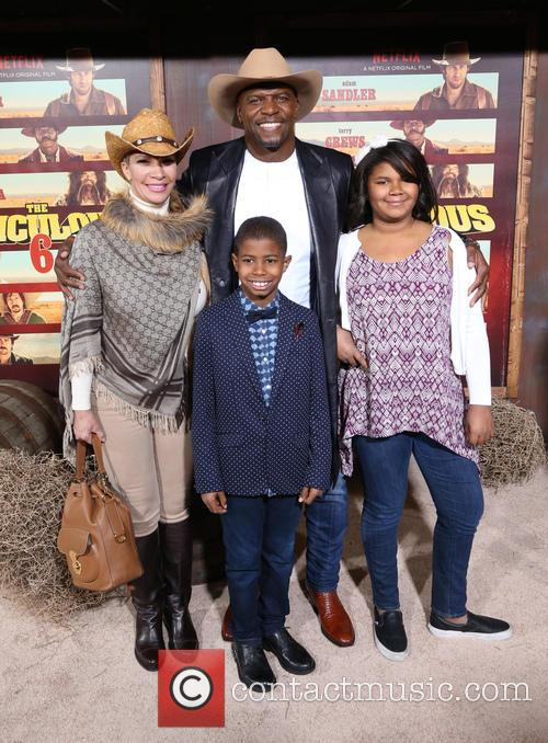 Terry Crews, Rebecca Crews and Kids 8