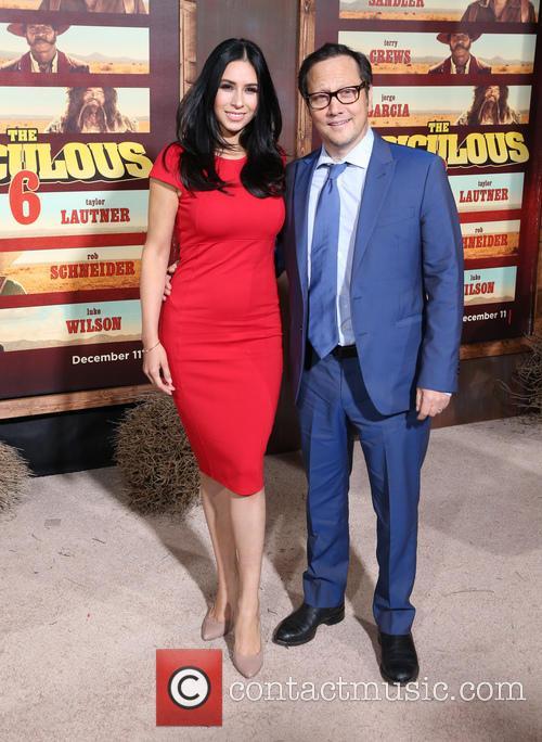 Patricia Azarcoya Schneider and Rob Schneider 5