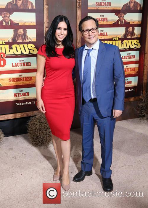 Patricia Azarcoya Schneider and Rob Schneider 6