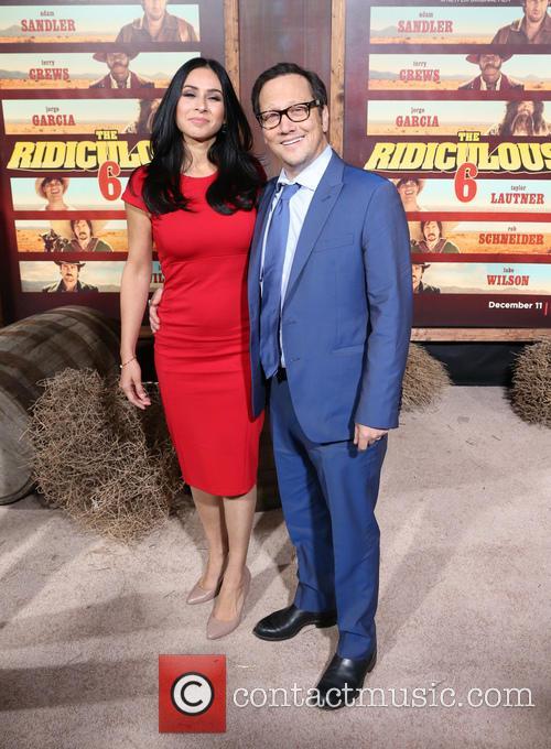 Patricia Azarcoya Schneider and Rob Schneider 7