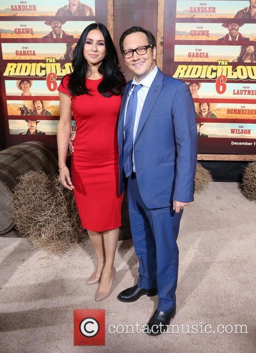Patricia Azarcoya Schneider and Rob Schneider 8
