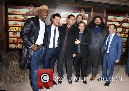 Terry Crews, Taylor Lautner, Adam Sandler, Luke Wilson, Chris Kattan, Jorge Garcia and Rob Schneider