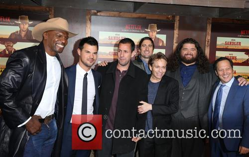 Terry Crews, Taylor Lautner, Adam Sandler, Luke Wilson, Chris Kattan, Jorge Garcia and Rob Schneider
