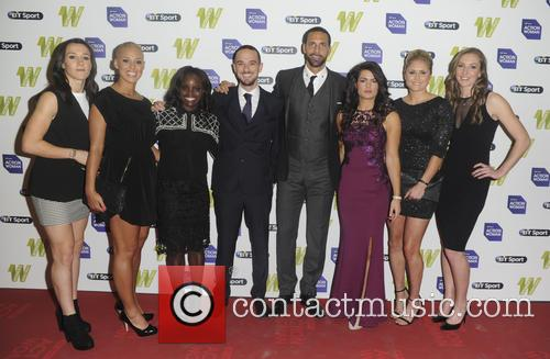 England Lionesses and Rio Ferdinand 2
