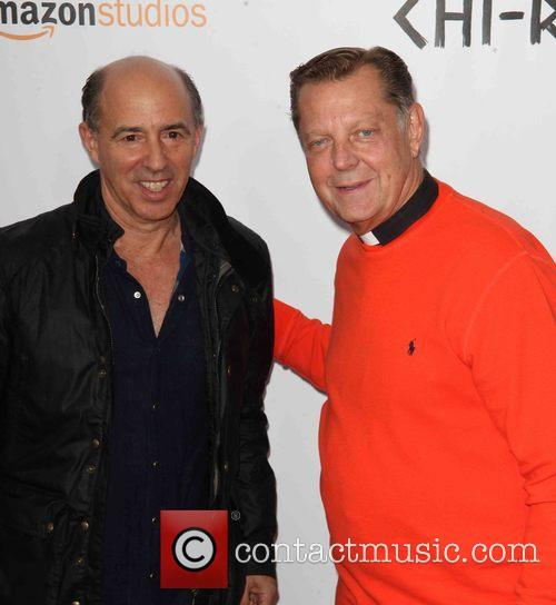 Jon Kilik and Father Michael Pfleger