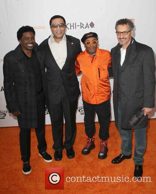 George Willborn, Harry Lennix, Spike Lee and John Cusack 3