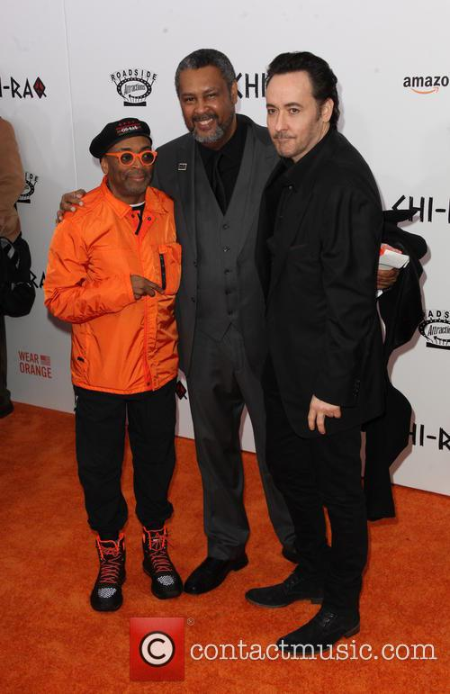 Spike Lee, Kevin Willmott and John Cusack 4