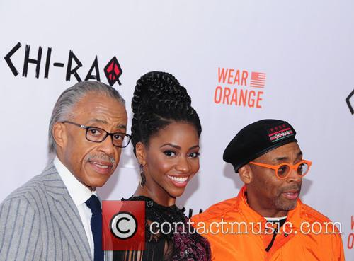 Al Sharpton, Teyonah Parris and Spike Lee 3
