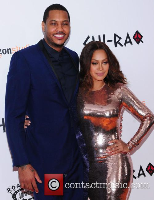 Carmelo Anthony and Lala Anthony 3