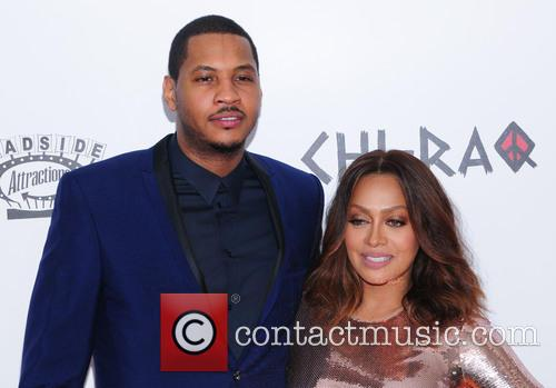 Carmelo Anthony and Lala Anthony 4
