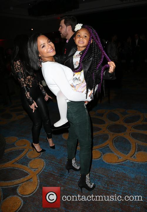 Christina Milian and Violet Madison Nash 8